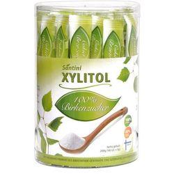 Cukier ksylitol 200g (40 sticksów x 5g) Santini - produkt z kategorii- Cukier i słodziki