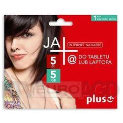 Plus JA+ 5zł / 5GB - internet na kartę - produkt w magazynie - szybka wysyłka! z kategorii Zestawy startowe