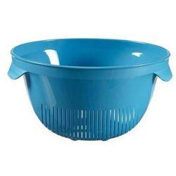Cedzak okrągły niebieski