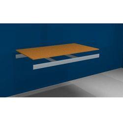 Dodatkowa półka, z trawersami i płytą wiórową, szer. x gł. 1500x800 mm.