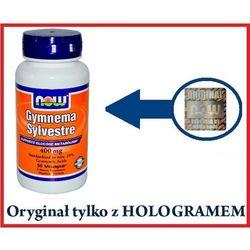 Gymnema sylvestre 400 mg - 90 kaps veg, marki Now foods