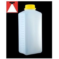 Retro image Retro-image butelka na chemię biała z podziałką 1l