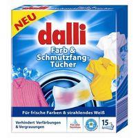 15szt niemieckie chusteczki do wyłapywania kolorów (15 prań) marki Dalli