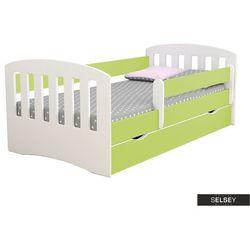 łóżeczko dziecięce pamma zielone marki Selsey