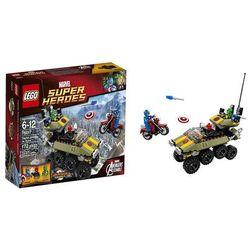 Lego SUPER HEROES Captain America VS Hydra 76017 (dziecięce klocki)