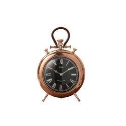 Zegar stojący orologio 25cm x 40 cm miedziany marki Interior