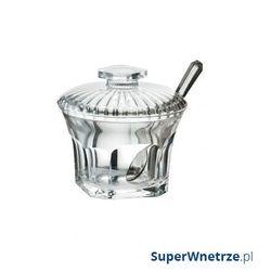 Guzzini Cukiernica z łyżeczką śr. 11cm belle epoque transparentna