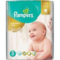 Pampers  premium care 3 midi 80 szt. (4-9 kg) jumbo pack- pieluszki jednorazowe, kategoria: pieluchy jednorazo