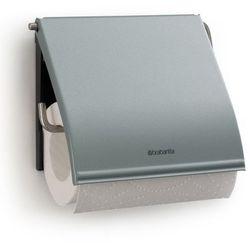 - uchwyt na papier toaletowy - miętowy metaliczny marki Brabantia