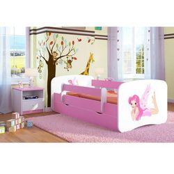Kocot-meble Łóżko dziecięce babydreams wróżka ze skrzydełkami kolory, promocja spokojny sen