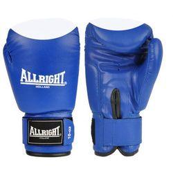 RĘK.BOKS. ALLRIGHT PVC 6 oz BLUE/WHITE z kategorii Rękawice do walki