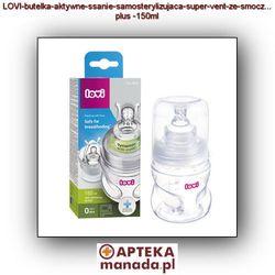 Butelka CANPOL 21/573 Lovi samosterylizująca 150 ml z kategorii Butelki dla dzieci