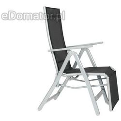 Krzesło ogrodowe LAGUNA 7 pozycji z podnóżkiem - produkt dostępny w eDomator.pl