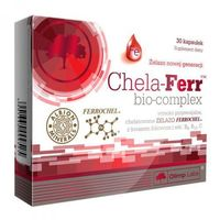 OLIMP Chela-ferr bio-complex, postać leku: kapsułki