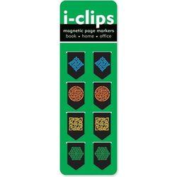 Zakładka magnetyczna Peter Pauper i-clips Celtycie wzory - 8 szt