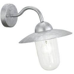 Zewnętrzna lampa ścienna milton 88489 elewacyjna oprawa ogrodowa kinkiet ip44 outdoor stal przezroczysty marki Eglo