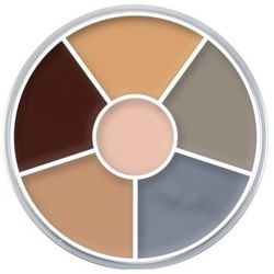 Kryolan CREAM COLOR CIRCLE (CORPSE) Kółko 6 kolorów farb Supracolor - CORPSE (1306), kup u jednego z partne