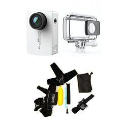 Xiaomi Kamera xiaoyi  yi 2 4k + obudowa wodoodporna + zestaw mały, kategoria: kamery sportowe