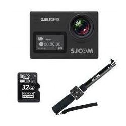 SJCAM SJ6 Legend + monopod + pilot + karta 32GB z kategorii Kamery sportowe