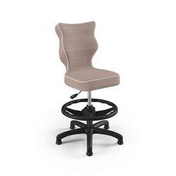 Krzesło dziecięce na wzrost 133-159cm Petit Black JS08 rozmiar 4 WK+P, AB-A-4-B-A-JS08-B