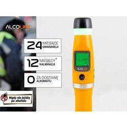 Alcolife Alkomat policyjny  f7 + kalibracja gratis + power bank + pokrowiec + wysyłka