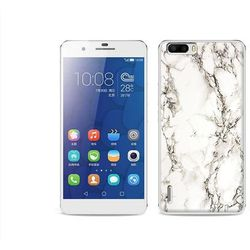 Fantastic Case - Huawei Honor 6 Plus - etui na telefon Fantastic Case - biały marmur, kup u jednego z partner