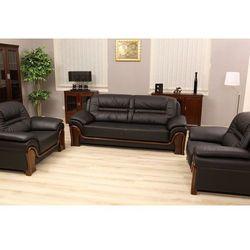 Sofa 3-osobowa PALLADIO kolor czarny, marki Bemondi do zakupu w Bemondi.pl