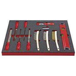 Zestaw narzędzi SHAPE, pilniki i szczotki, 20-częściowy, we wkładce z twardej pi