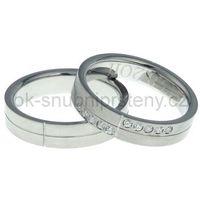 Altar® Obrączki ślubne z stali nierdzewneji oc1025 (obrączki ślubne z)