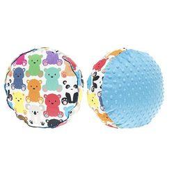 Cuddly Zoo, Kolorowe misiaczki, Azure, mała pufa
