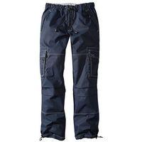 Spodnie bojówki Loose Fit Straight bonprix ciemnoniebieski, szerokie