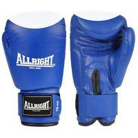 Rękawice bokserskie Allright PVC - niebiesko-białe