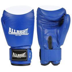 Rękawice bokserskie Allright PVC - niebiesko-białe - sprawdź w wybranym sklepie