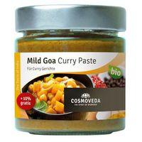 Cosmoveda Pasta goa curry łagodna do dań rybnych organiczna 160g  (4032108117867)