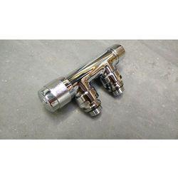Zawór termostatyczny kątowy chromowany dekoracyjny 50mm valkro50squcu 50  wyprodukowany przez Irsap