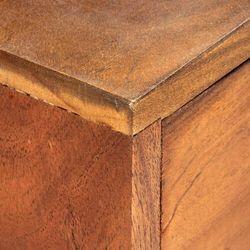 szafka pod tv, 140x30x50 cm, lite drewno akacjowe marki Vidaxl