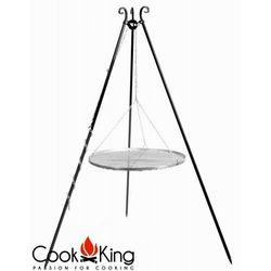 Grill ogrodowy stal nierdzewna 70 cm, produkt marki CookKing