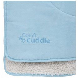 CuddleCo Kocyk Comfi Cuddle Niebieski | U NAS SKOMPLETUJESZ CAŁĄ WYPRAWKĘ | SZYBKA WYSYŁKA (5060295842971)