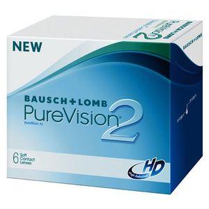 Bausch&lomb Bausch & lomb purevision 2 hd 6 szt.