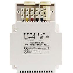 Transformator AWT824 80VA, 17V/4.7A 24V/3,3A 30V/2,7A