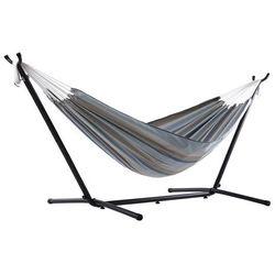 Hamak Sunbrella + stojak metalowy 8f, szaro-zielony C8SUN