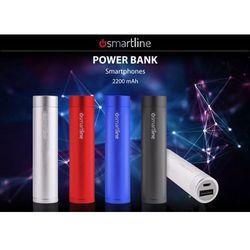 SMARTLINE Universal External Battery - Uniwersalny Power Bank 2200mAh (srebrny), kup u jednego z partnerów