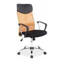 Fotel q-025 pomarańczowo-czarny - zadzwoń i złap rabat do -10%! telefon: 601-892-200 marki Signal meble