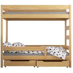 Łóżko piętrowe dziecięce Wanda 140x70