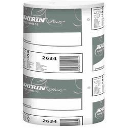 Ręcznik papierowy w roli Katrin Plus S2 2 warstwy 60 m biały celuloza (6414301002634)