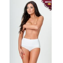 Linea fashion  01 white Figi korygujące, biała