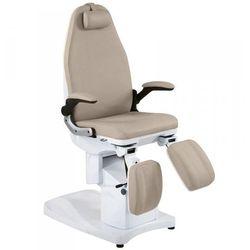 Fotel Podologiczny Azzurro 709a Beżowy - produkt z kategorii- Pozostałe fryzjerstwo i kosmetyka