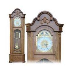 Zegar stojący/cyf.rzym.-dąb h-206cm5056 marki Chomik