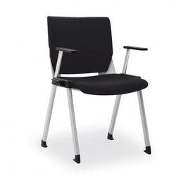 Krzesło konferencyjne variax congress, czarne marki B2b partner