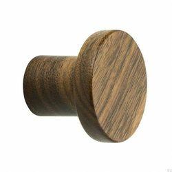 Beslag design Wieszak ścienny circum 48 drewniany orzech włoski